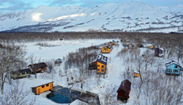 Base sportive Snejnaya Dolina au Kamtchatka