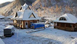 Auberge chez Eric & Natacha, dans l'Altaï