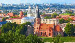 Voyage Pays Baltes - Lituanie Vue colline Aleksotas