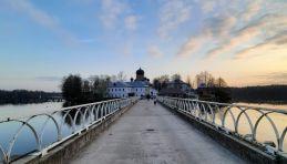 Randonnée jusqu'au monastère Vvedensky