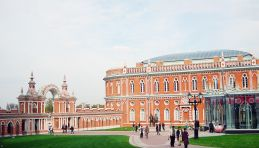 Voyage Moscou - Parc Tsaritsyno