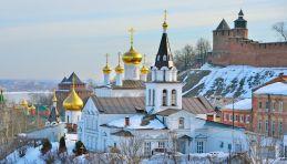 Voyage Nijni Novgorod - Eglise d'Elijah le prophète