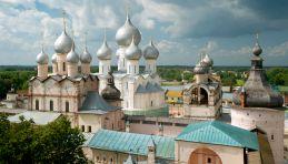 Voyage Anneau Or - Panorama de Rostov le Grand
