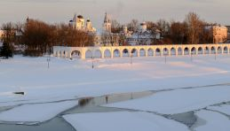 Voyage russie, anneau d'argent - Panorama Veliki Novgorod