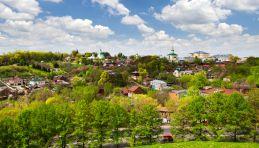 Voyage Russie, Anneau d'or, Vladimir - Vue panoramique de Vladimir