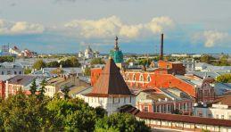 Voyage Anneau d'Or - Panorama de Yaroslavl