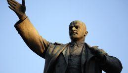 Visite Moscou - Statue Lénine