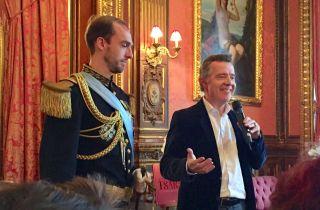Nicolas de la Bretèche et le Tsar.jpg