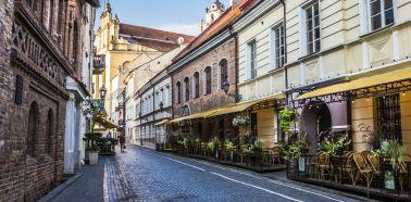 Voyage Vilnius - Vieille-ville
