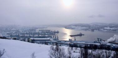 Voyage Russie, Péninsule de Kola, Mourmansk - Vue panoramique