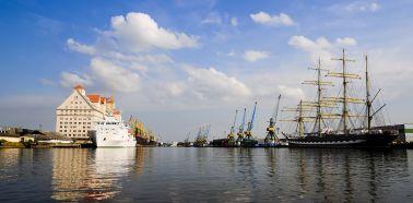 Voyage Russie, Kaliningrad - Vue du port de Kaliningrad