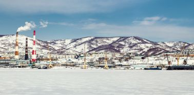 Voyage Russie, Kamtchatka, Petropavlovsk - Vue panoramique Petropavlovsk