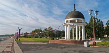 Voyage Petrozavodsk - Sur le quai Onega