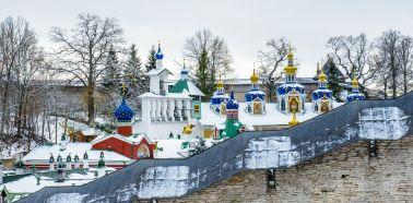 Voyage russie, anneau d'argent, Pskov - Le monastère Petchori