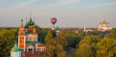 Voyage Russie - Yaroslavl - L'église de L'Archange Mikhaïl