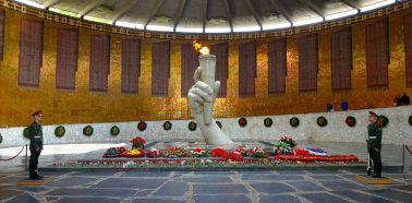 Voyage Russie, Volga, Volgograd - Mémorial de la bataille de Stalingrad