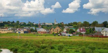 Voyage Russie - Autour de Moscou - Vue pittoresque de Borovsk
