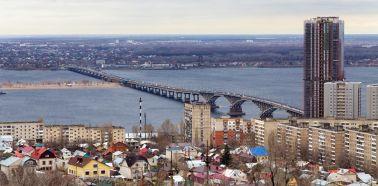Voyage Russie, Saratov - Vue panoramique