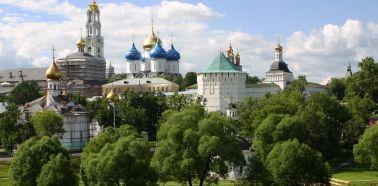 Voyage Russie, anneau d'or - Vue panoramique de Serguiev Possad