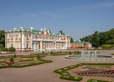 Voyage Estonie - Tallinn palais Kadriorg