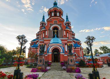 Église de Notre-Dame de Kazan à Irkoutsk