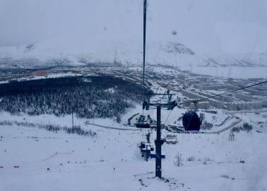 Voyage Russie, Péninsule de Kola, Kirovsk - Vue panoramique depuis le téléphérique
