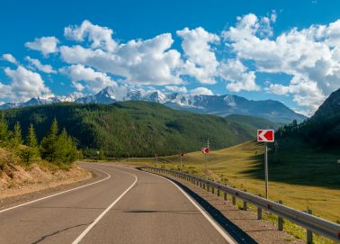 Mont Béloukha - Mont Altaï