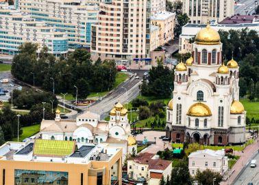 Voyage Russie, Transsibérien, Ekaterinbourg - Cathédrale sur le Sang Versé