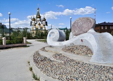 Voyage Iakoutsk - Place centrale