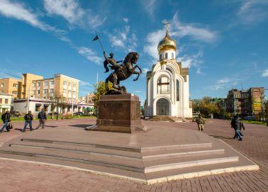 Voyage Ivanovo - Place de la Victoire