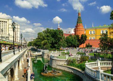 Voyage Moscou - Alexandrovsky Sad