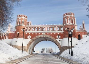 Voyage Moscou - Tsaritsyno