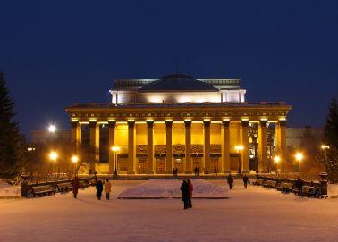 Voyage russie, transsibérien, Novossibirsk - Théâtre national