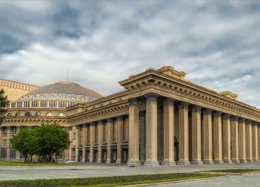Voyage Novossibirsk - Théâtre national