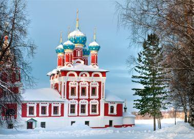 Voyage Ouglitch - Eglise de Dimitri