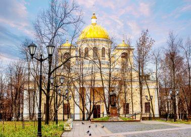 Voyage Russie, Carélie, Petrozavodsk - La cathédrale Alexandre Nevsky