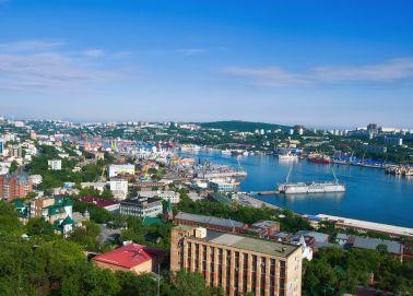 Voyage russie, transsibérien, Vladivostok - Vue panoramique