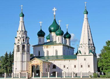 Voyage Yaroslavl - Eglise Saint-Elie