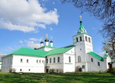 Voyage Alexandrov - Eglise de la Dormition