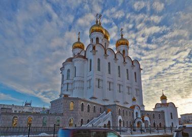 Voyage Magadan - Eglise