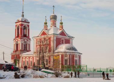 Voyage Pereslavl-Zalesski - Eglise des Quarante Martyrs