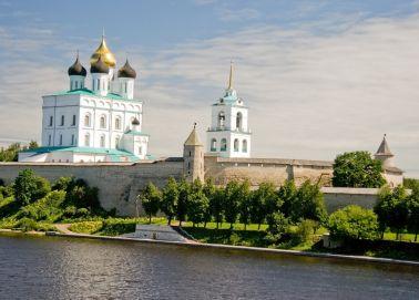 Voyage Pskov - Kremlin