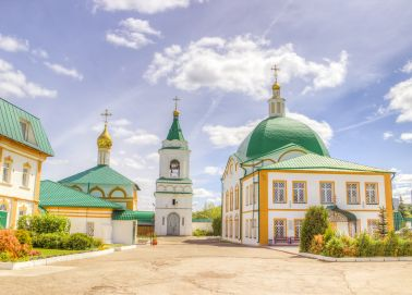 Voyage Tcheboksary - Monastère de la Trinité