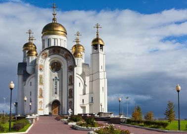 Voyage Tcheliabinsk - Eglise