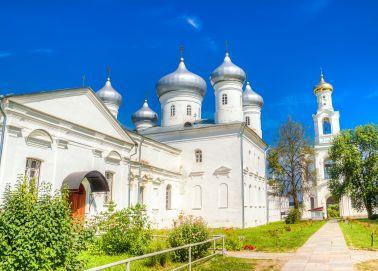 Voyage Veliki Novgorod - Monastère Saint-Georges de Youriev