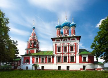 Voyage Russie, Anneau d'Or, Ouglitch - L'église de Dmitri