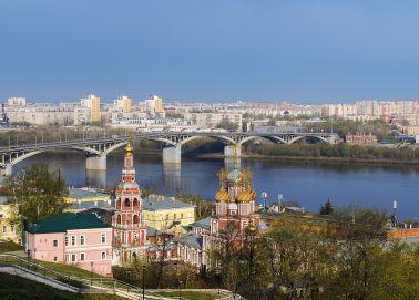 Voyage Russie, Nijni Novgorod - L'église Stroganov