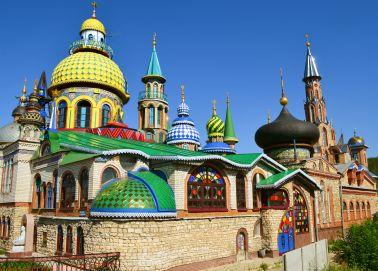 Voyage Russie - Le temple de toutes les religions de Kazan