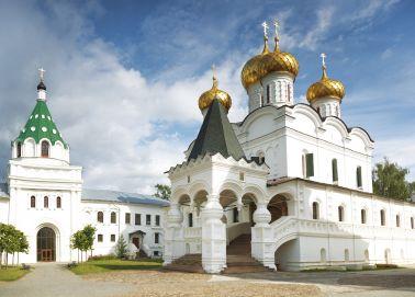 Voyage Russie - Anneau d'Or - Kostroma - Le monastère Ipatiev