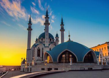 Voyage Russie, Tatarstan, Kazan - Mosquée